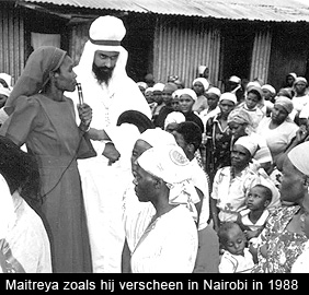 Maitreya in Nairobi